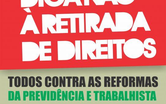 E_CARD TODOS CONTRA AS REFORMAS