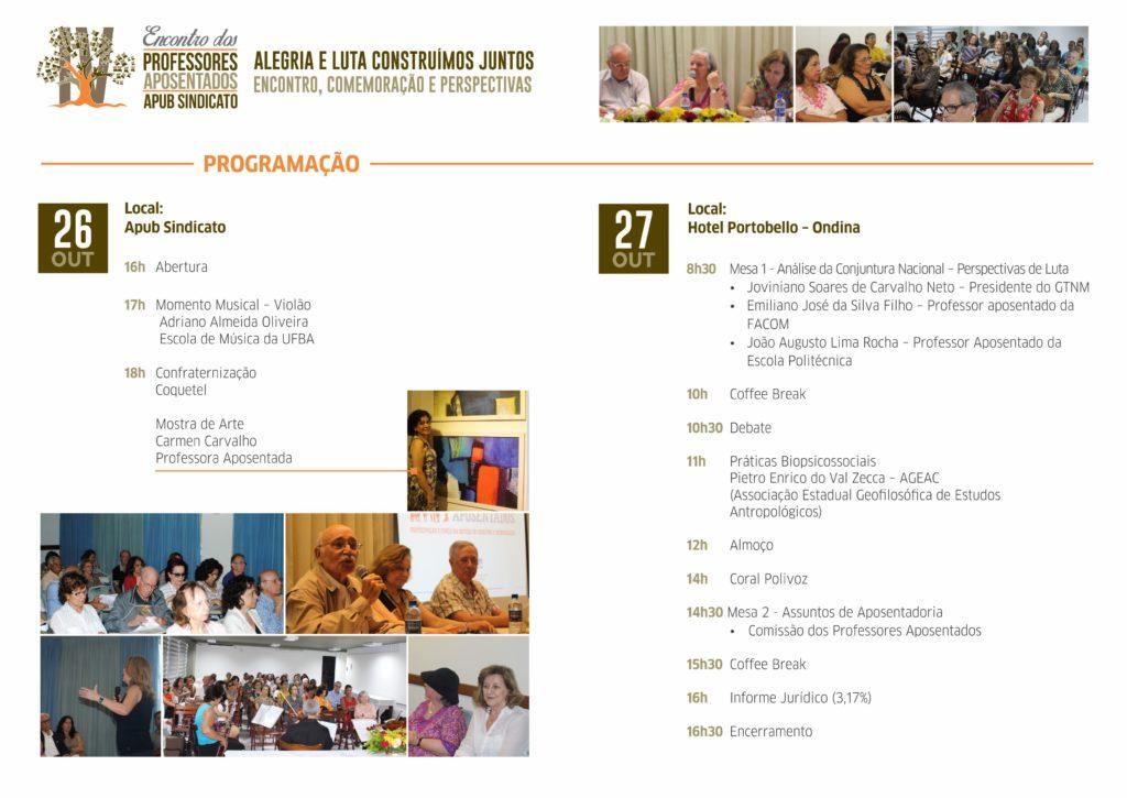 PROGRAMACAO ENCONTRO DOS APOSENTADOS 2017 miolo